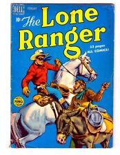 The LONE RANGER #20 in VG/FN condition 1950 DELL Golden Age comic SILVER & TONTO