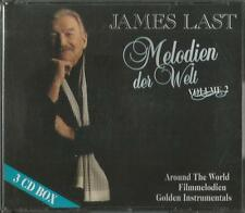 A -3 CD James Last Melodien der Welt Volume 2 / Around the World, Filmmelodien u