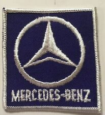 "1970s True Vintage Automobile ""MERCEDES-BENZ"" German Car Patch Made in USA"