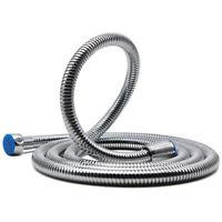 Stainless Steel Flexible Chrome Shower Hose Bathroom Heater Water Head Pipe S
