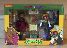SPLINTER Vs BAXTER STOCKMAN Figure Tmnt Neca Teenage Mutant Ninja Turtles