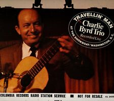 """THE CHARLIE BYRD TRIO """"TRAVELLIN' MAN: RECORDED LIVE"""" LP 1966 columbia"""