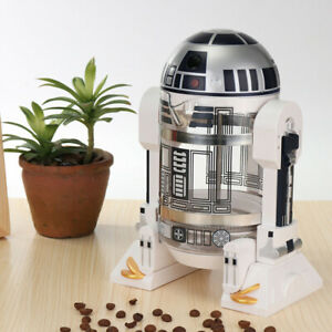 R2-D2 32oz/960ML Household Robot French Press Coffee Maker Machine Tea Pot O