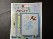 Counted Cross-Stitch Pattern Book: SPRITES AND WIZARDS - NEW 2013