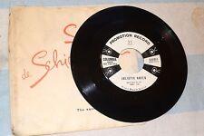 45 RPM SI B/W THE CAROUSEL JULIETTE GRECO COLUMBIA 4-41011 PROMO
