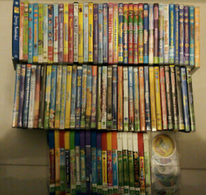 Various Children's Movies, TV Shows, Series and Music DVDs