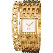 Dgnp Z dw0094 D&G Donna A Cascata Set Di Cristallo Oro Placcato Bracelet Watch