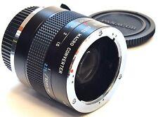 OLYMPUS OM Panagor 2X Macro Converter 1:1 True Macro with a Standard 50mm Lens