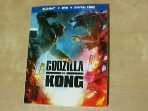 GODZILA VS KONG (Blu-ray, DVD Incl. Digital Copy *NEW)
