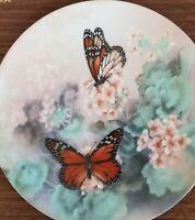 Lena Liu Collector Butterfly Butterflies Plate Gossamer Wings Series MONARCH