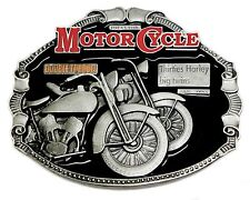 Harley Davidson Belt Buckle Classic Motorcycle Biker Thirties Big Twins Licensed