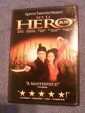 Hero , a 2002 Dvd Jet Li,Tony Leung Chiu Wai, Maggie Cheung, Ziyi Zhang, heroes