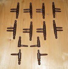 Einbohrband  10 Stück Oberfläche Rost-Antik - Rolle 11 mm