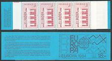 1984 EUROPA SVEZIA LIBRETTO MNH ** - VS