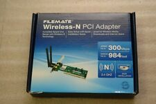 300M Wireless N PCI Card WiFi Network Lan 2 Antenna Cordless Ethernet Adapter