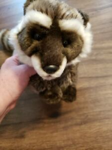 "Ganz Webkinz Signature Raccoon 16"" Plush NO CODE"
