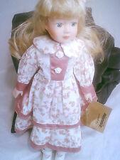 Seymour Mann Connoisseur Collection Porcelain Doll Blonde