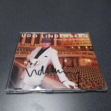 Udo Lindenberg - MAXI CD KÖNIG VON SCHEIßEGALIEN - RARITÄT - AUTOGRAMM