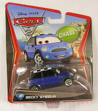 BECKY WHEELIN chase NEW disney pixar cars 2 #33