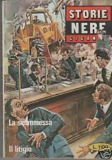 STORIE  NERE GIGANTE  N. 46   LA SCOMMESSA