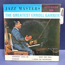 ERROL GARNER Somebody loves me ... SAVOY MUSIDISC 3002