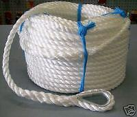 10mm x 50Mtr Silver Anchor Rope  **NEW**
