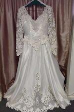 Mary's White Wedding Dress