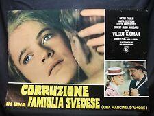 FOTOBUSTA CINEMA - CORRUZIONE IN UNA FAMIGLIA SVEDESE - I. THULIN - 1974 - DRAMM