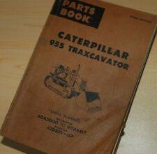 Cat Caterpillar 955 Traxcavator Parts Manual Book Track Crawler Front End Loader