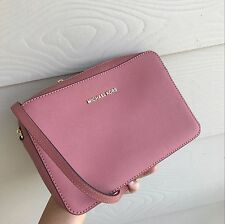 Michael Kors Jet Set Travel Large Chain Strap Crossbody Antique Rose NWT