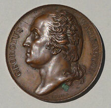 GEORGE WASHINGTON  COPPER  MEMORIAL  MEDAL  1819