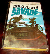 Doc Savage 21 Cold Death by Kenneth Robeson 1st Bantam edition January 1968