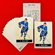 Dave Keon - 1961/62 - Parkhurst - Maple Leafs - Rookie Reprint - #5 - Lot of 24