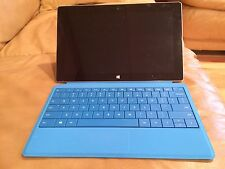 Microsoft Windows Surface 2 RT 32GB Tablet Blue Type Cover Keyboard Bundle