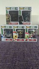 Funko POP! Star Wars 275,276,277,277,278 *Yoda* * Chewbacca* *Christmas edition*