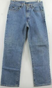 "Polo Ralph Lauren Classic 5 Pocket Straight Jeans Sz 32x36 Measures 31""x28-1/2"""