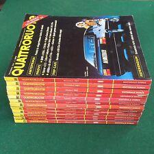 Lotto 12 Riviste/Magazine QUATTRORUOTE ANNATA 1987 COMPLETA !!!
