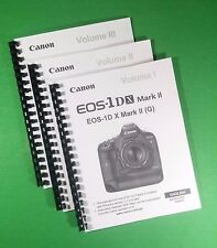 LASER 8.5X11 Canon EOS 1DX 1D-X  Mark II Camera 562 Page Owners Manual Guide