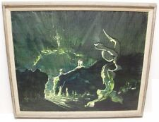 Fernando Torterolo Abstract Surrealist Chilean South American Oil Painting 1of2