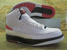 1994 Nike Air Jordan 2 II Retro Sample SZ 9 White Red Black OG Promo 130235-161