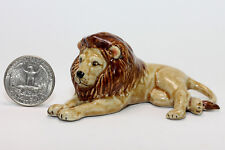 Lion Miniature Ceramic Animals Figurine,Collectibles,terrarium wild