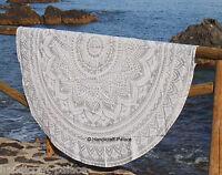 Indian Roundie Round Mandala Hippie Tapestry Large Beach Throw Yoga Mat Bohemian