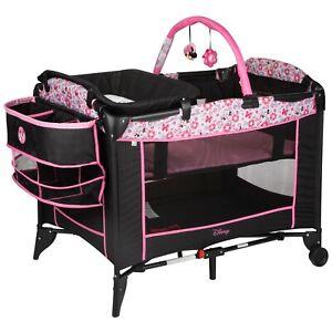Disney Baby Sweet Wonder Baby Play Yard Minnie Meadow Entertaining Toy Arch