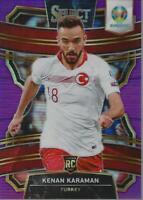 2020 Select UEFA Euro Prizms Purple #65 Kenan Karaman /79