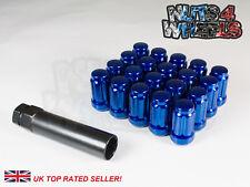 20 x Blue Spline Wheel Nuts M12x1.5 Fits MG ZR ZS