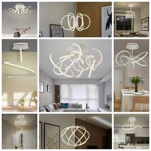 Design LED Deckenleuchte, Deckenlampe, Esstischlampe, Hängelampe