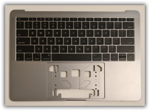 """New Top Case keyboard US for MacBook Pro 13.3"""" A1708 Late 2016 / 2017 Space Gray"""
