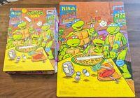 Vintage 1990 Roseart TMNT Teenage Mutant Ninja Turtles Puzzle Complete