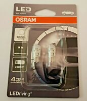 OSRAM W5W, W2. 12V / 1W LED COOL WHITE  TWIN PACK 2880CW-02B ( 2 BULBS )