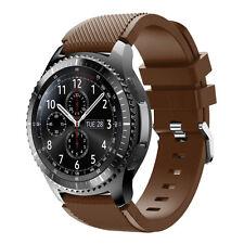 DE Für Samsung Gear S3 Frontier Classic Silikon Sportband Uhrenarmband Armband